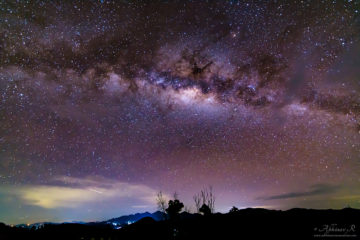 Milky Way from Vagamon - Kerala