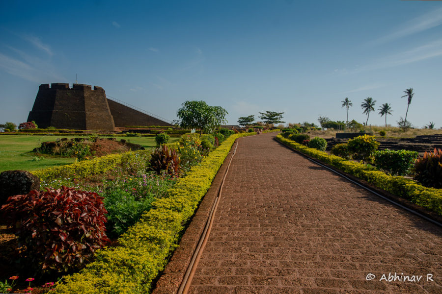 Bekal Fort in Kasargod