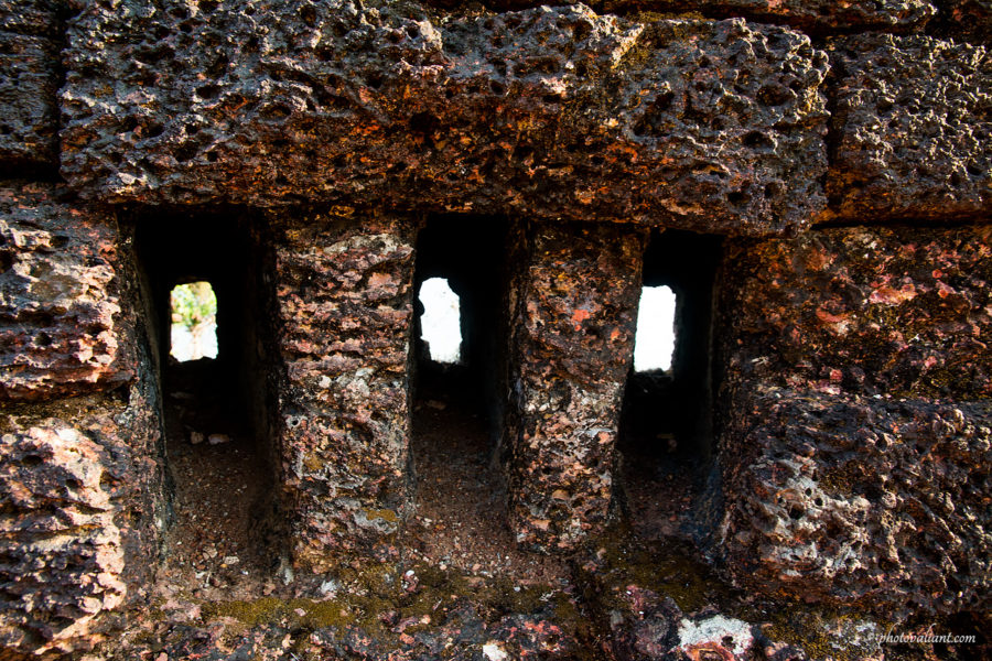 Holes for watching - Bekal Fort