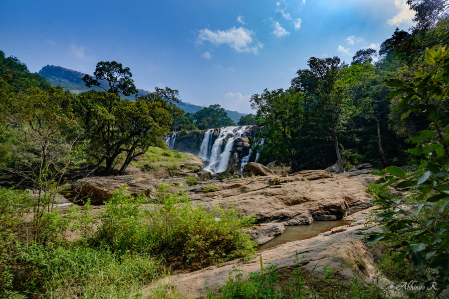 Thoovanam Waterfalls at Chinnar - one of the beautiful waterfalls of Kerala
