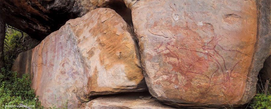 Madathala Painted Rock Shelter - Chinnar