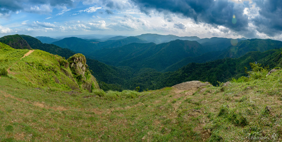 Parunthumpara in Idukki- a panorama