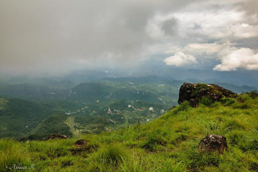view from Lakshmi Hills