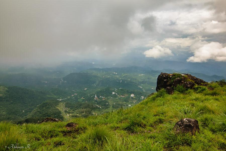 view from Lakshmi Hills