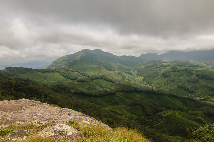 From the Top of Lakshmi Hills - Munnar