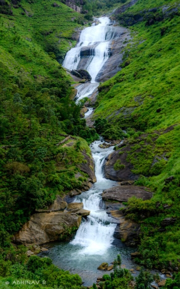 Palozhukumpara Waterfalls Vagamon